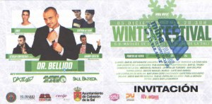 Regalaremos invitaciones para el Winter Festival 2014