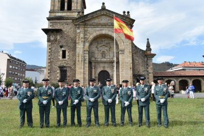 Homenaje a la Guardia Civil de Buelna y Cieza