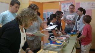 Mercado de libros de texto en el IES Orbe Cano